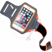 Mobiparts Comfort Fit Sportarmband Apple iPhone 6/6s Oranje