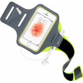 Mobiparts Comfort Fit Sportarmband Apple iPhone 5/5S/SE Groen
