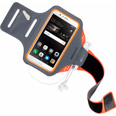 Mobiparts Comfort Fit Sportarmband Huawei P9 Lite Oranje