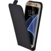 Mobiparts Premium Flip Case Samsung Galaxy S7 Zwart