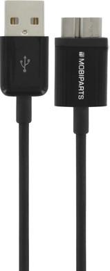 Mobiparts Micro USB 3.0 Kabel 1m Zwart