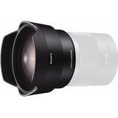 Sony FE 28mm f/2 + Fisheye Converter