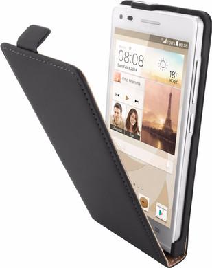 Mobiparts Premium Flip Case Huawei Ascend G6 3G Black