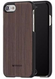 Mozo Back Cover Wood Apple iPhone 6/6s/7/8 Walnoot