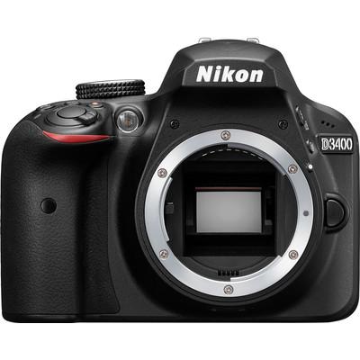 Image of Nikon D3400 body zwart
