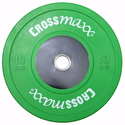 Image of Crossmaxx Competition Bumper Plate 10 kg Green