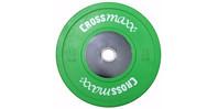 Crossmaxx Competition Bumper Plate 10 kg Green