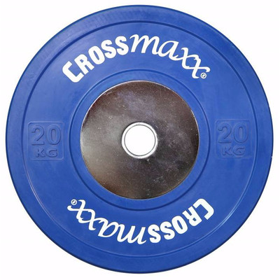 Image of Crossmaxx Competition Bumper Plate 20 kg Blue