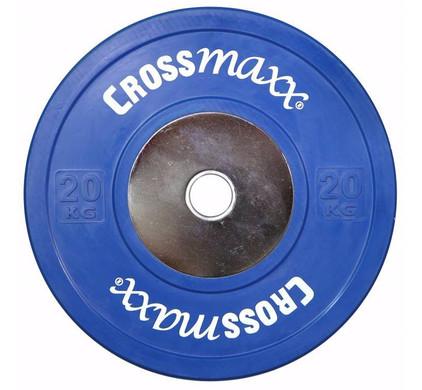 Crossmaxx Competition Bumper Plate 20 kg Blue