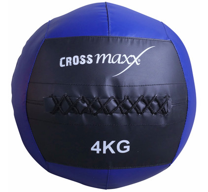 Crossmaxx Wall Ball 4 kg Blue