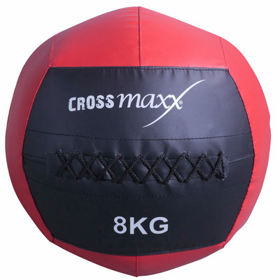 Image of Crossmaxx Wall Ball 8 kg Red