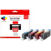 Huismerk Canon CLI-571XL 4-Kleuren Pack