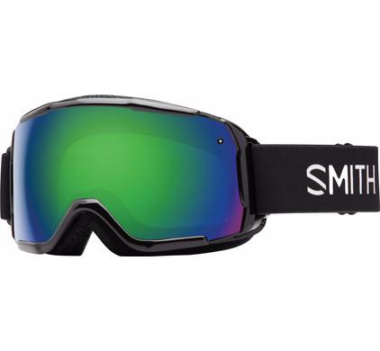Smith Grom Junior Black + Green Sol X Lens