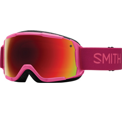 Smith Grom Junior Fuchsia Static + Red Sol-X Lens