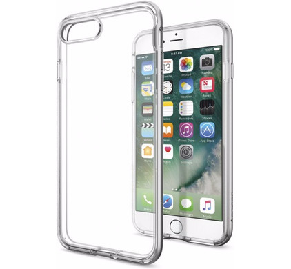 Spigen Neo Hybrid Crystal Apple iPhone 7 Plus/8 Plus Zilver