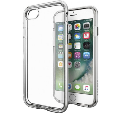 Spigen Neo Hybrid Crystal Apple iPhone 7 Zilver
