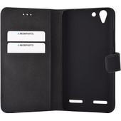 Mobiparts Premium Wallet Case Lenovo K5 Zwart