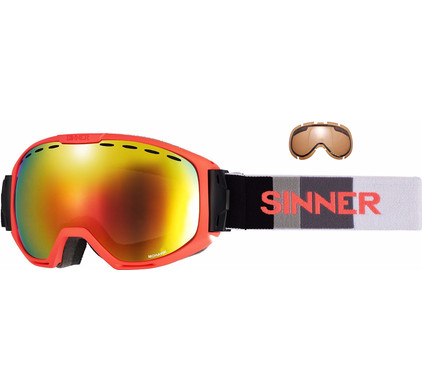 Sinner Mohawk Orange + Red Revo & Orange Lenzen