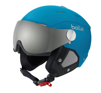 Bollé Backline Visor Soft Blue/Silver (56 - 58 cm)