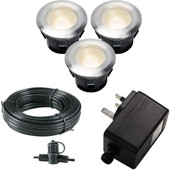 Garden Lights Larch Set 12V