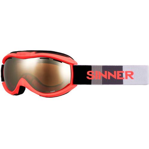 Sinner Toxic Neon Orange + Orange Mirror Lens