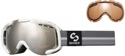 Sinner Galaxy OTG White + Orange Miror & Orange Sintec Lenzen