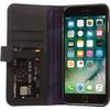 Decoded Leather Wallet Case Apple iPhone 7 Plus/8 Plus Zwart