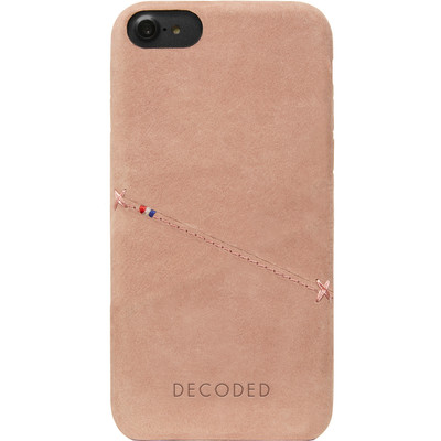 Image of Decoded Leather Back Cover Apple iPhone 6/6s/7 Roze