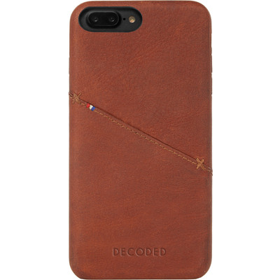 Image of Decoded Leather Back Cover Apple iPhone 7 Plus Bruin