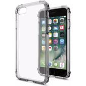 Spigen Crystal Shell Apple iPhone 7/8 Donker Transparant