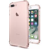 Spigen Crystal Shell Apple iPhone 7 Plus Roze Transparant