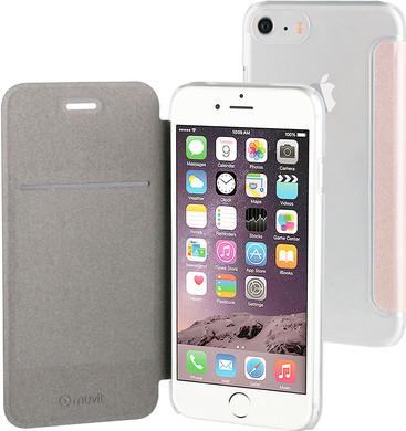 Muvit Folio Apple iPhone 7 Book Case Rose Gold