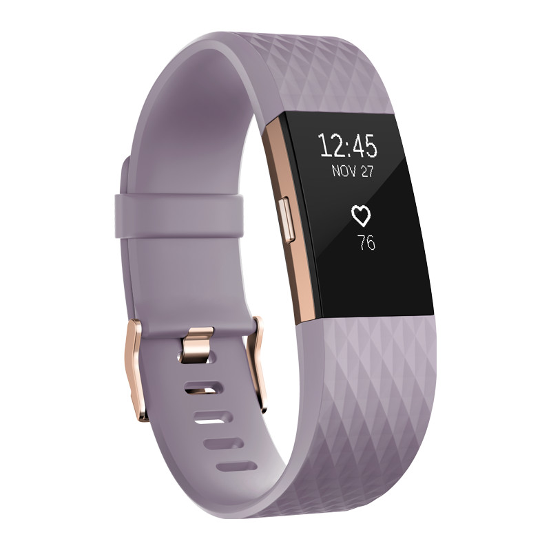 Fitbit Charge 2 Lavender-Rose Gold L Special Edition