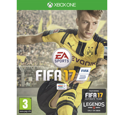 fifa 17 xbox one coolblue alles voor een glimlach. Black Bedroom Furniture Sets. Home Design Ideas
