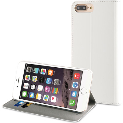 Muvit Booklet Case Apple iPhone 7 Plus Wit