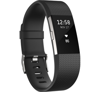 Fitbit Charge 2 - Zwart - Small