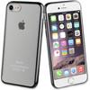 Muvit Frame Apple iPhone 7 Back Cover Zwart