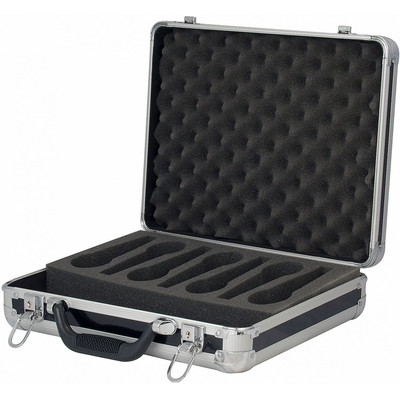 Image of DAP ACA-MIC1 Microfoonkoffer voor 7 microfoons zwart