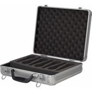 DAP-Audio D7304S Case Voor 7 Micofoons Zilver