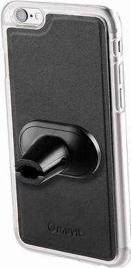 Muvit Magnet Case Autohouder Apple iPhone 7 Zwart