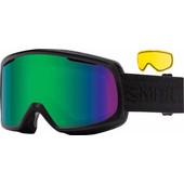 Smith Riot Black Eclipse + Green Sol-X & Yellow Lenzen
