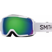 Smith Grom Junior White + Green Sol X Lens