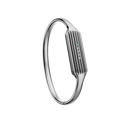 Fitbit Flex 2 Bangle Polsband Silver - S