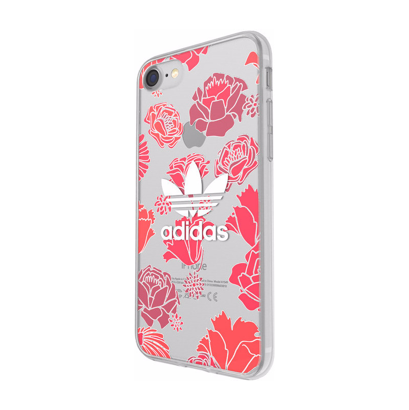 Adidas Originals Clear case Bohemian Apple iPhone 7 Rood