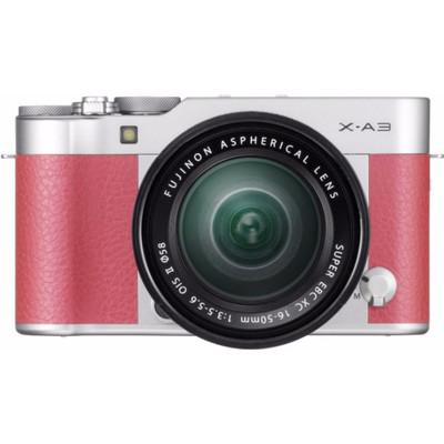 Image of Fujifilm X-A3 roze + 16-50mm OIS II zilver
