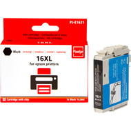 Huismerk Epson 16 XL Cartridge Zwart (Pixeljet - C13T16314010)