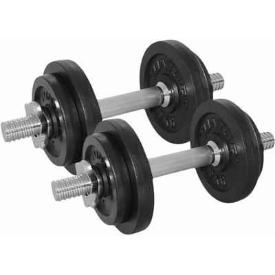 Image of Tunturi Dumbbellset 2x 10 kg