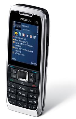 Nokia E51 Silver (no camera)