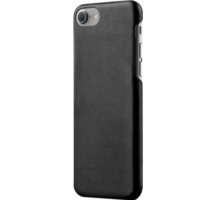 Mujjo Leather Case Apple iPhone 7 Zwart