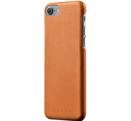 Mujjo Leather Case Apple iPhone 7 Bruin